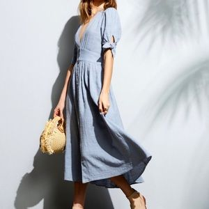 Free People Love of My Life Midi Dress size Medium
